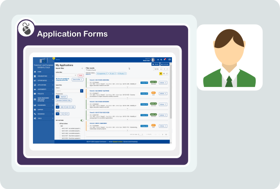 Application Forms Image